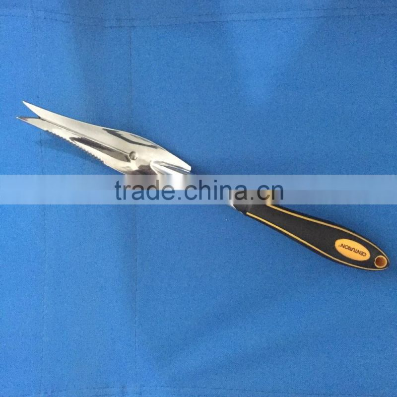 Aluminum alloy manufacture deep root weeder