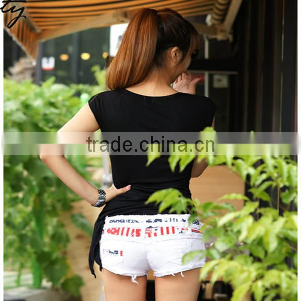 Cheap Summer denim shorts new fashion broken style for sale