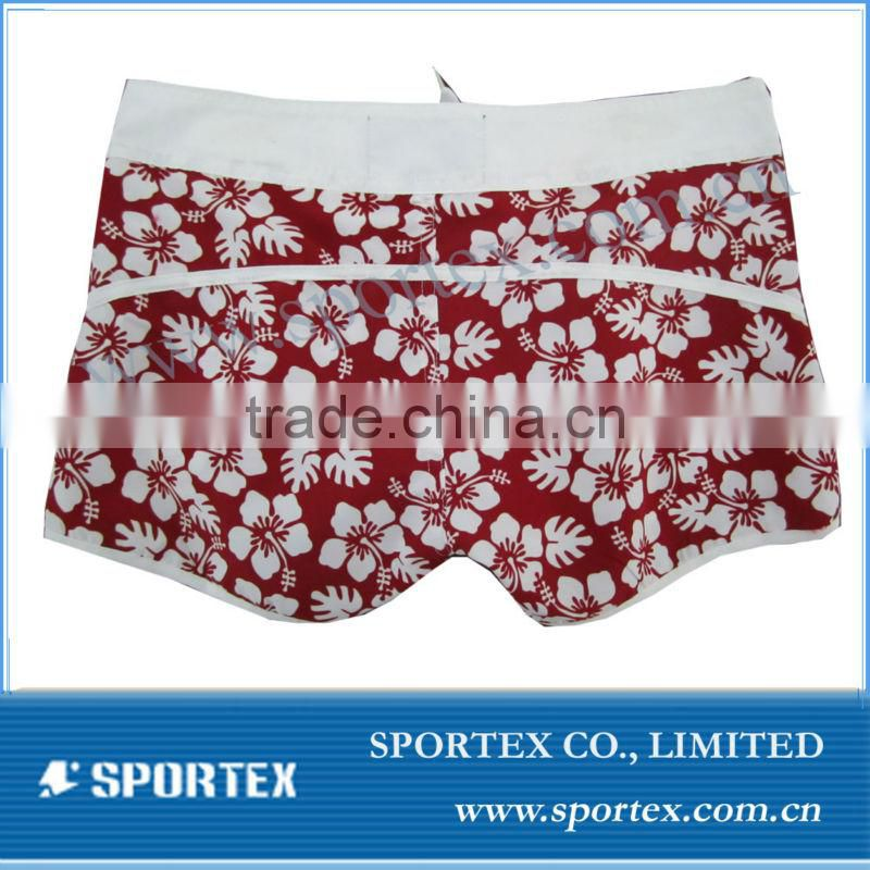 2013 Fashionable ladies 100% polyester Beach Shorts/Swimwear