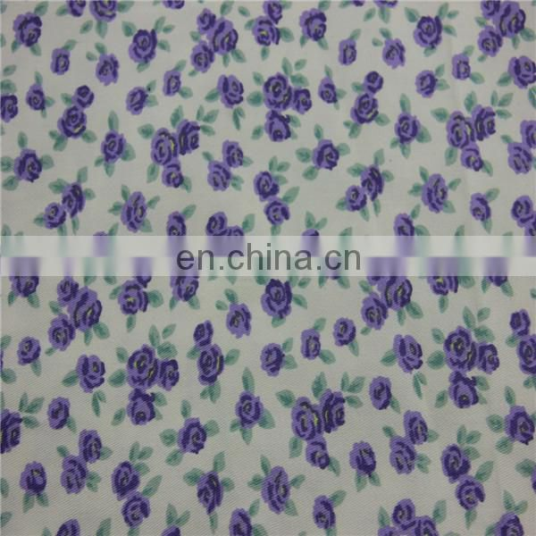 printed fabric Cotton fabric 97cotton 3spandex fabric for baby