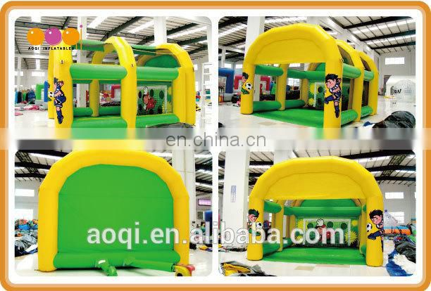 AOQI hot seller factory price inflatable mini football gate made in China