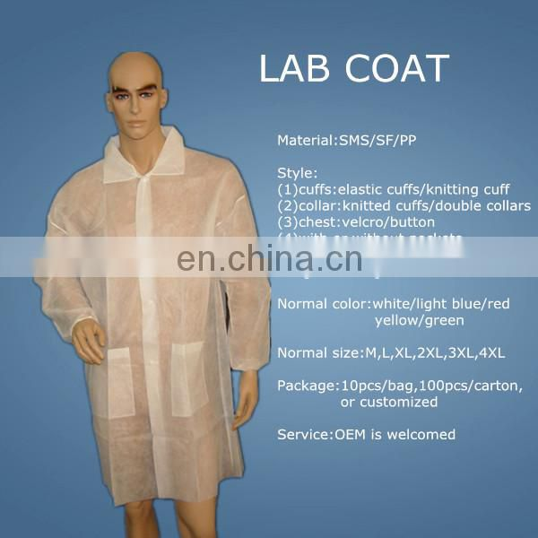 disposable surgical coat