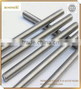 HDG Din975 DIN976 threaded rod sgs