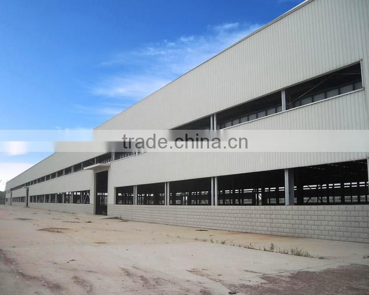 Easy Install Workshop Steel Structure Hay Shed Design