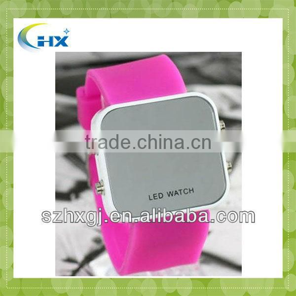 MA-1106 2013 New Arrival Hot Selling Factory Direct Sell Silicone Women,GEM Watches