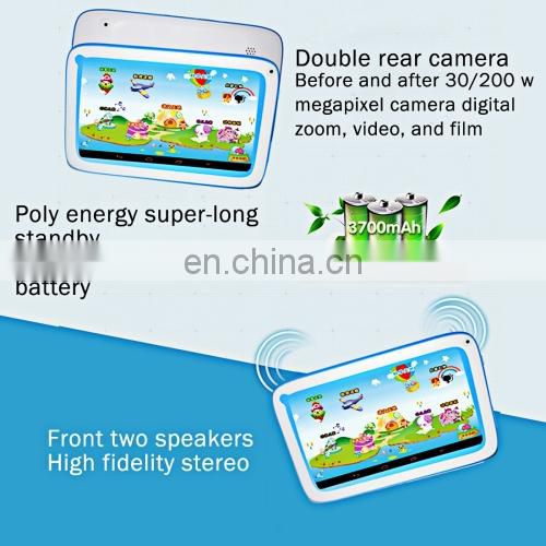 Cheapest Kids Education Tablet, 7.0 inch, 512MB+8GB, free sample free shipping tablet pc ,kids tablet pc