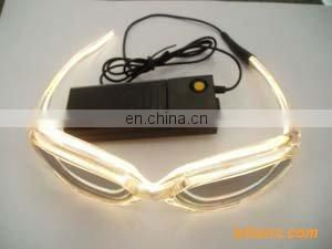el wire strobe glasses