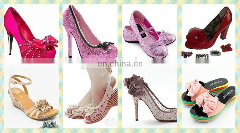 Bailange design shoe decorations wholesale shoes upper ornament
