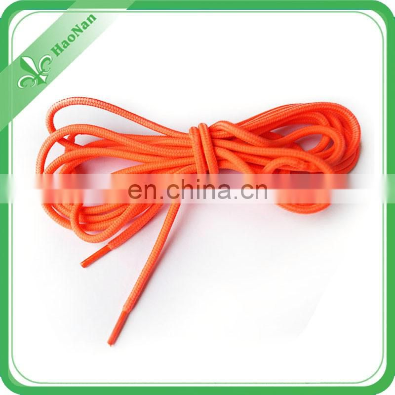 Promotional polyester neon fashion shoelaces, Flashing shoe laces