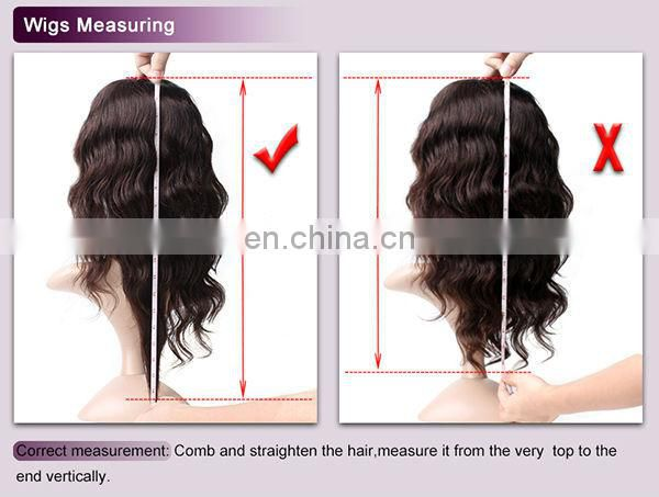 Natural hairline virgin brazilian glueless wigs human hair wigs wavy natural color with baby hair