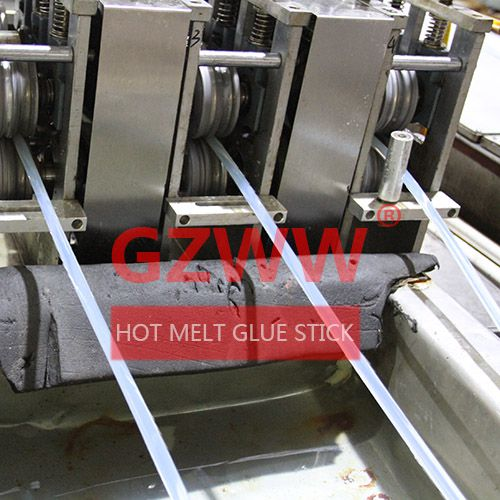 GZWW 7mm 11mm Diameter High Temperature Flame Retardant Electronic Hot Melt Glue Stick Image
