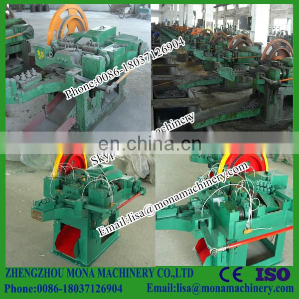 Automatic nail making machinery/Automatic Industrial nail making machine factory/nail making machine for sale Image