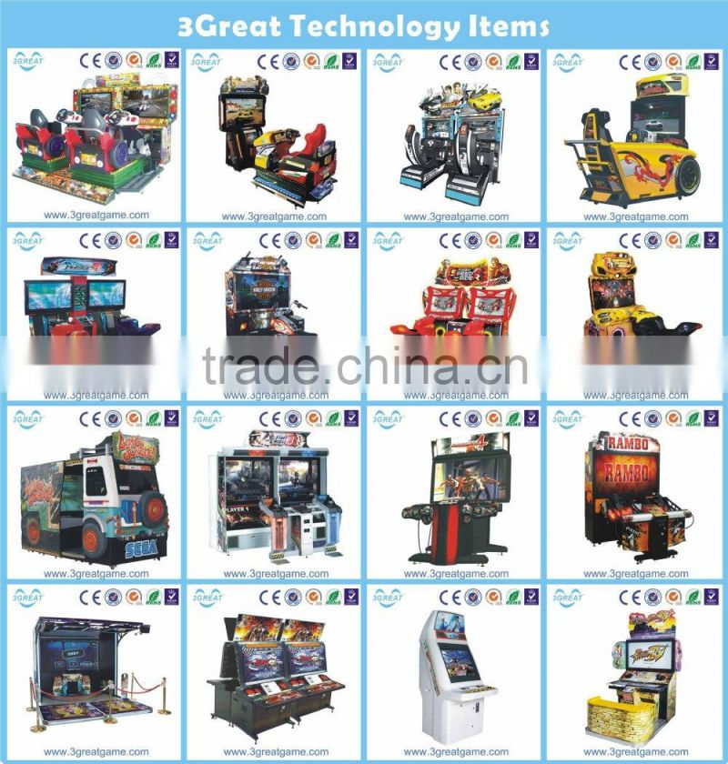 Amusement coin operated arcade amusement boxing game machine