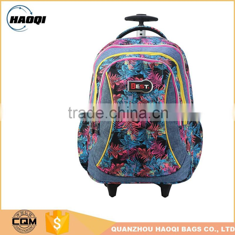 Lastest good quality trolley bags for school