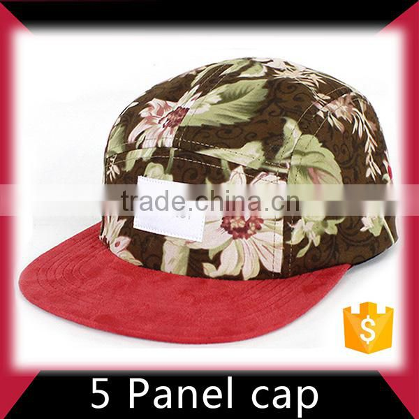Fast delivery free samples 5 panel hat with earmuffs