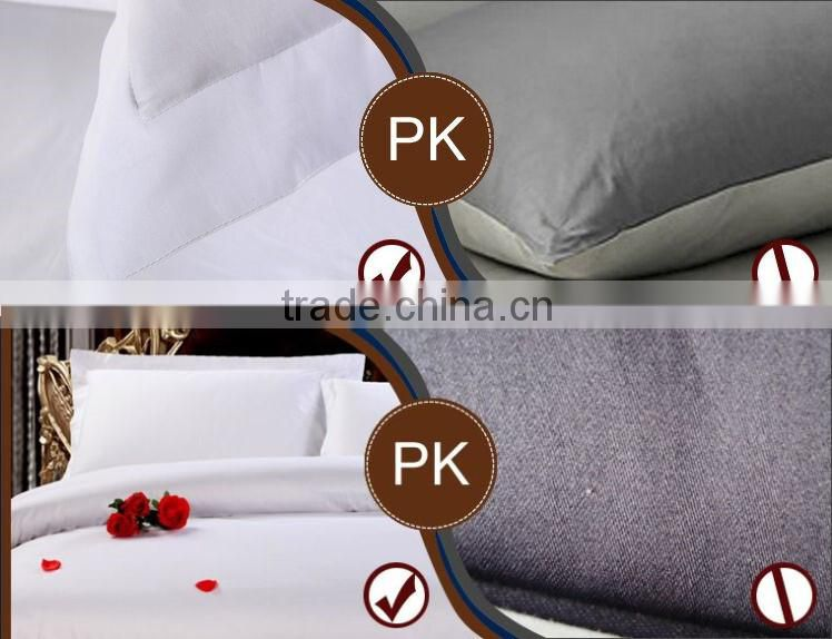 4pcs 100% cotton luxury five star hotel bedding set