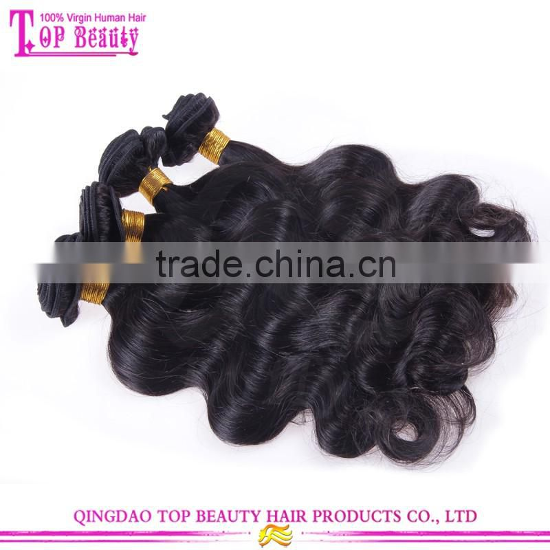 8A Grade 100% Brazilian Virgin Human Hair Unprocessed Hair With Body Wave 8 inhces to 30