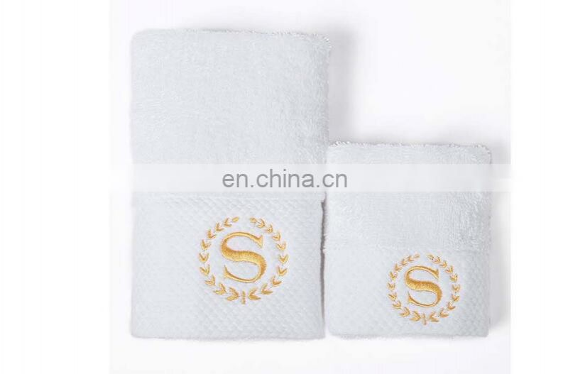 Cheap wholesale bath room hotel 16s 100% cotton white bath towels