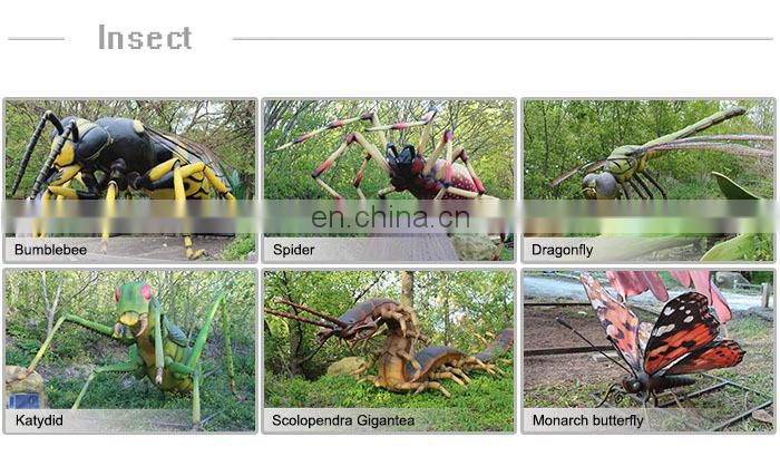Outdoor Playground Simulation Animatronic Insect Model