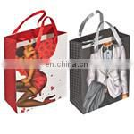 Customized Promotional natural jute canvas Non Woven Bag/Non woven Shopping Tote Bag BAG084