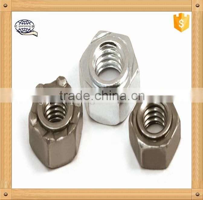 square welded nuts m10