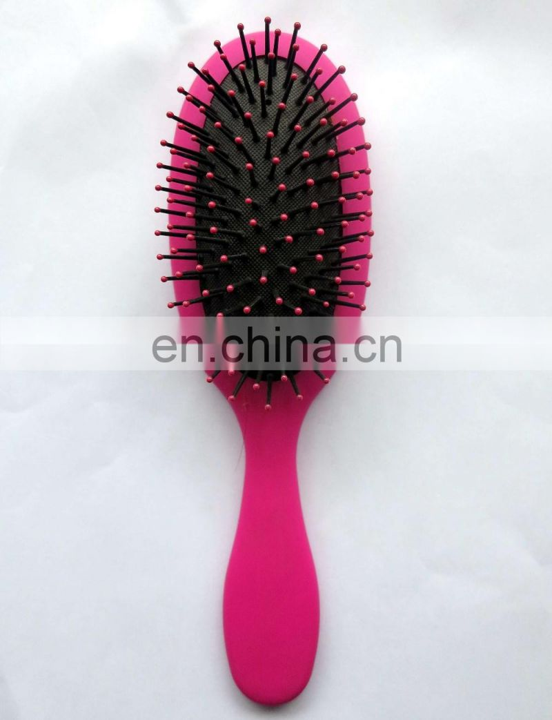 Dinshine unique design soft round hair brush