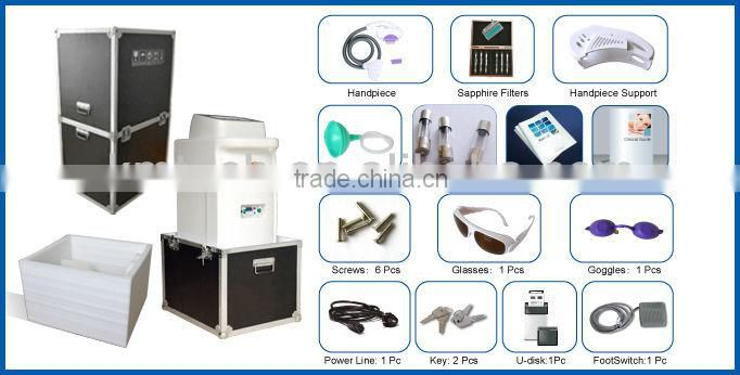 2014Newest tech!! SHR machine hair removal More effective than 808nm diode laser hair removal machine