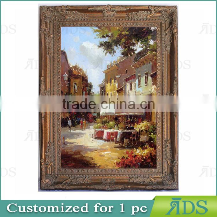 Wall Decorative Handmade Room Scenery Painting