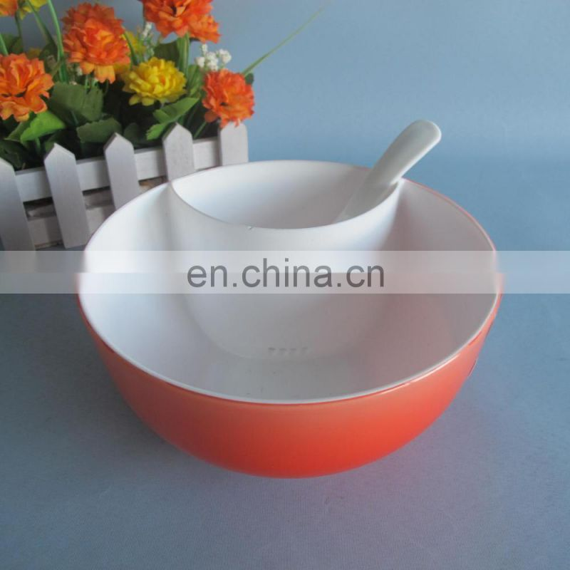 950ml round Plastic bowl with oil filter