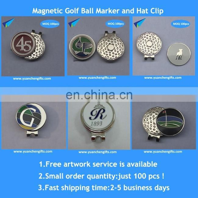 four magnetic antique silver magnetic divot tools ball marker