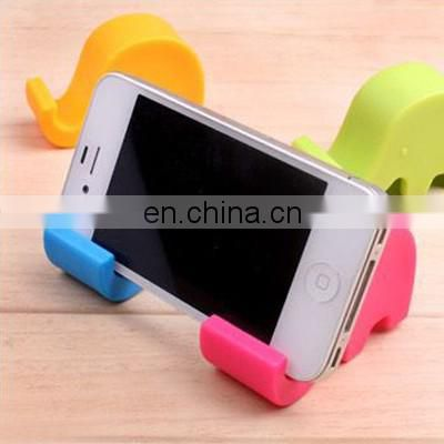 Durable animal shaped silicone mobile phone stand