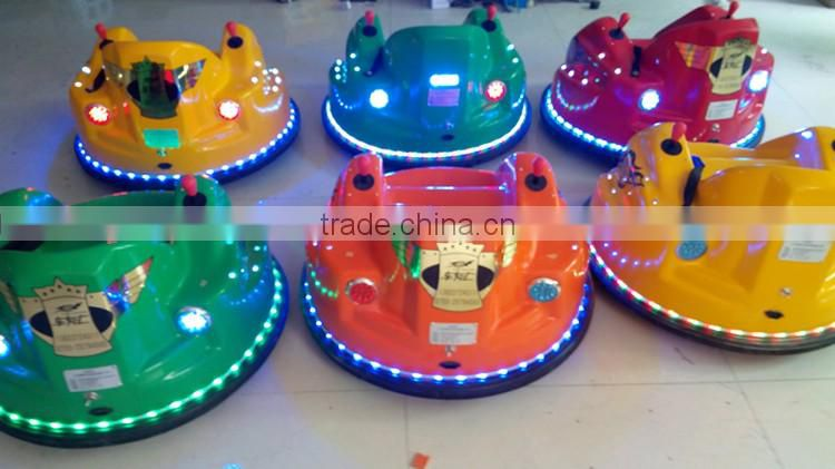 Amusement electric operated kids bumper cars motor for sale