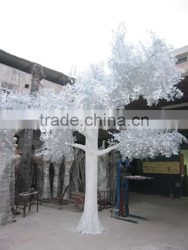 hot sale artificial white banyan tree