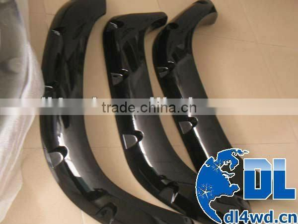 Auto parts for Toyota Hilux fender flares plastic car wheel arch fender hilux