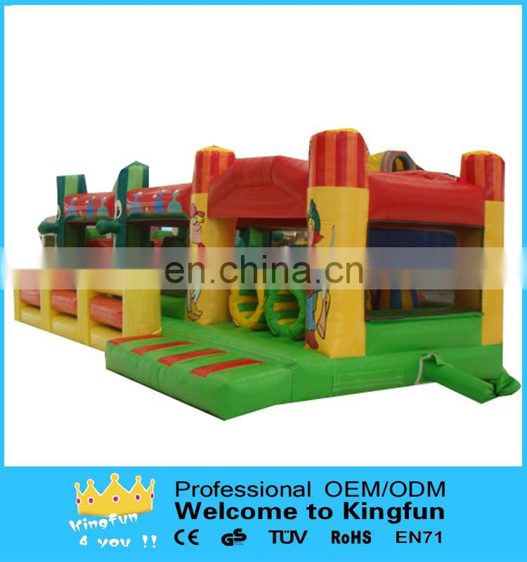 Poular inflatable obstacle course /inflatable playground games