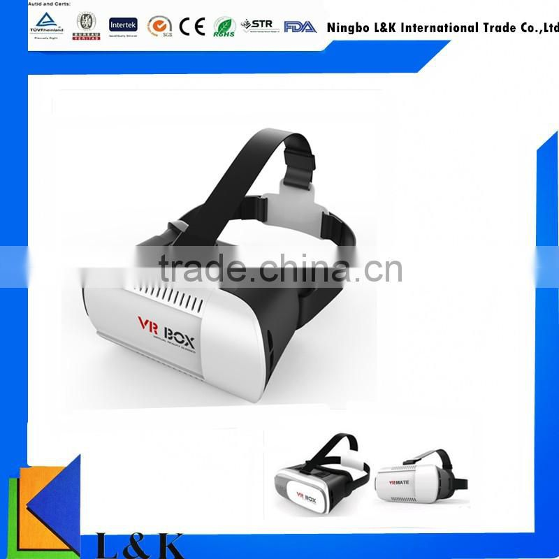 3D VR Box virtual reality 3D VR glasses for Android and ios smart phones