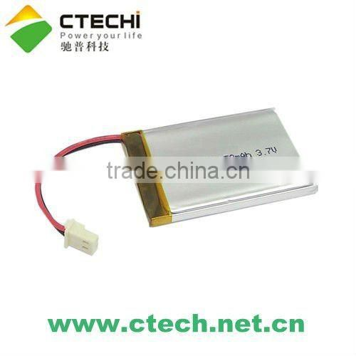 052030 3.7V rechargeable li-polymer battery