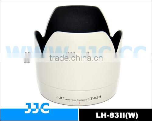 JJC LH-83II(w) Lens Hood for CANON ET-83II used on CANON EF 70-200 f/2.8L USM