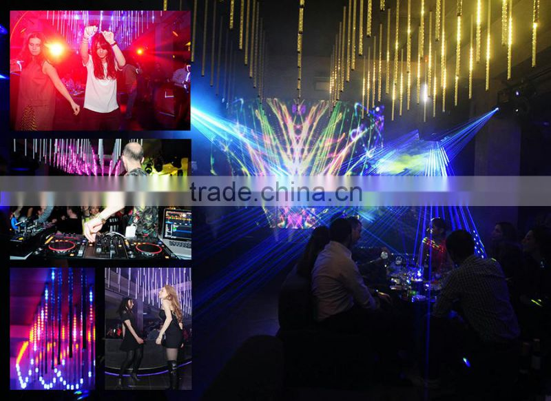 Nightclub lighting 3D Led meteor tube led disco light