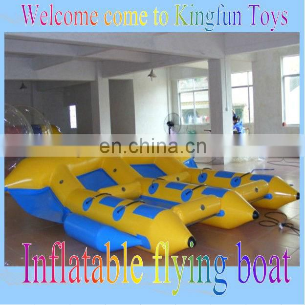 Top quality inflatable banana boat for sale