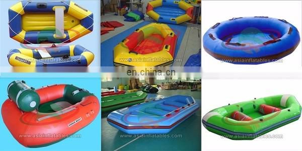 Cheap inflatable sea kayak / water sport rowing boat for 10 persons / inflatable boat