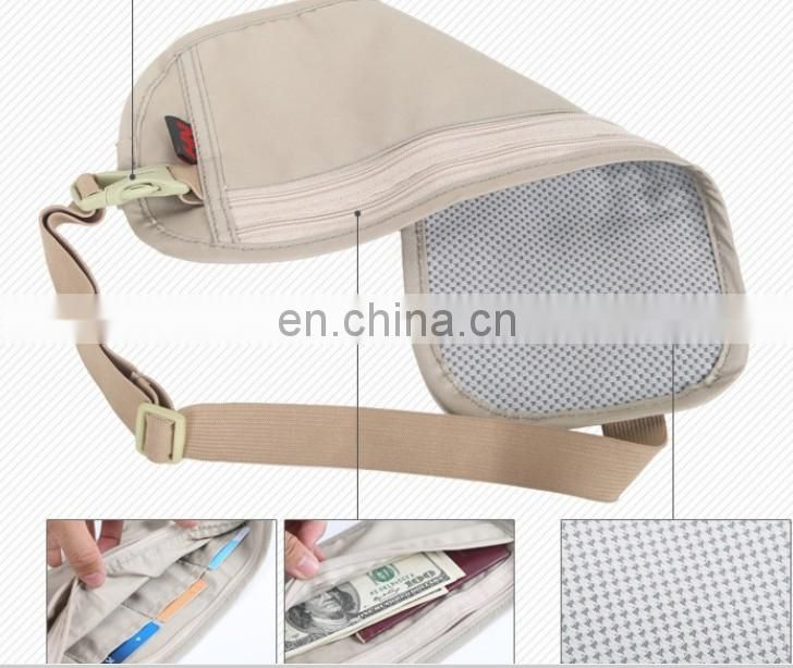 High quality Anti-Theft Hip Pack waist pack B2014003