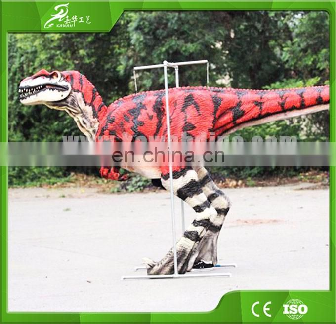 Sichuan electrical life size realistic dinosaur costume for sale