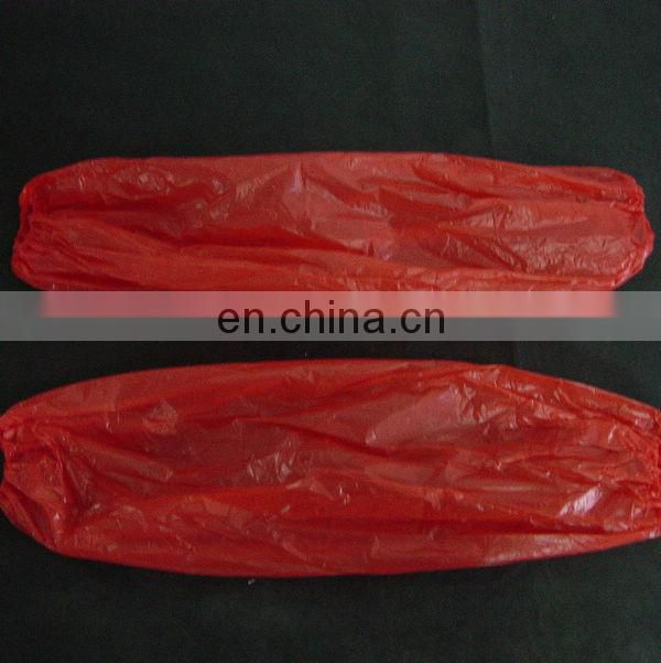Polyethylene Sleeve With Elastic Disposable
