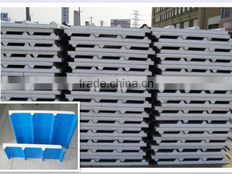 low price room polyurethane roof wall eps andwich wall panel