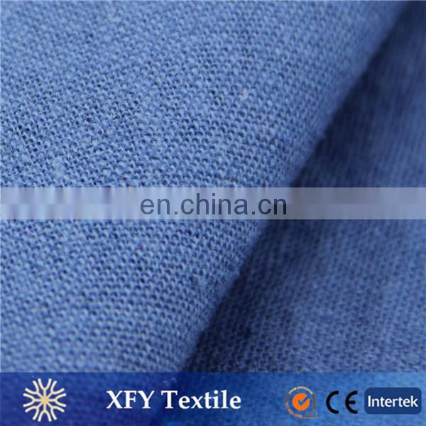 wholesale cheap price XFY-RL159 Navy Fabric linen With Rayon Linen