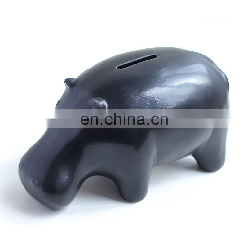 unique gifts American country style ceramic money box piggy bank