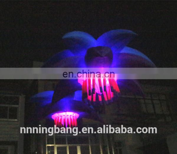 Ningbang hot sale 2018 giant inflatable flower decoration,inflatable flower wedding