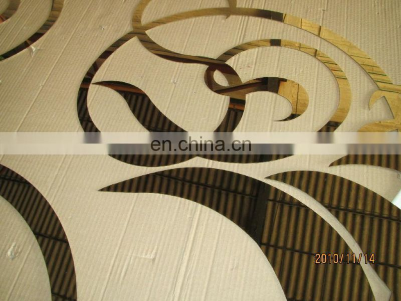 Color teflon coated stainless steel plate for decoration