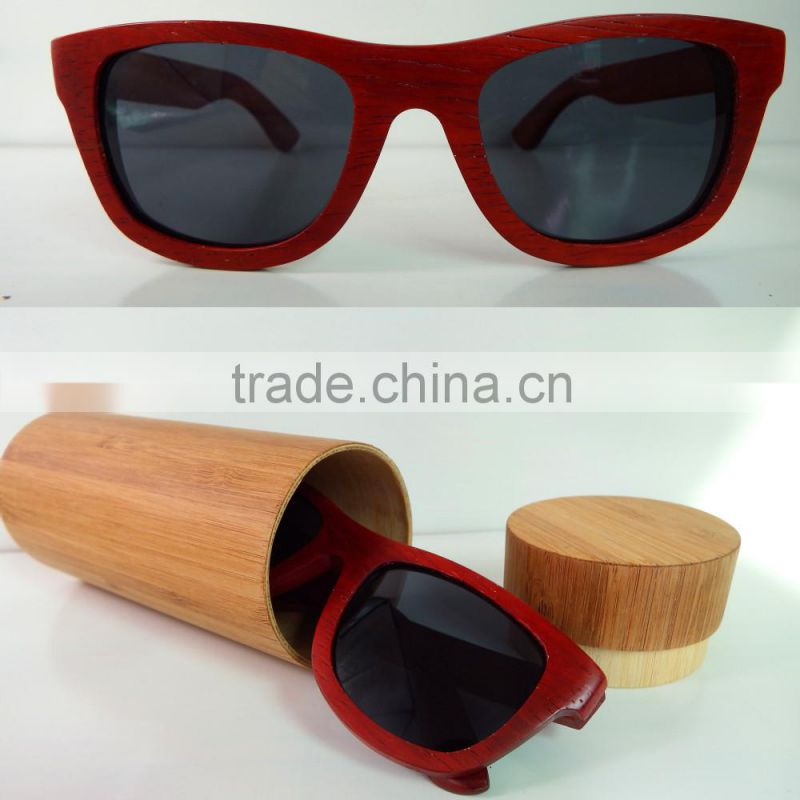 New Fashion OEM Wooden imitation glasses Bamboo wooden sunglasses
